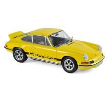 NOREV 187638 - 1:18 Porsche 911 RS Touring 1973 - Yellow & Black