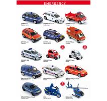 NOREV - EMERGENCY CAR NOREV DIE-CAST - 1 бр.