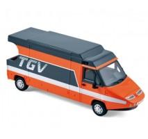 Provence Moulage - Renault Master TGV 1983 Orange