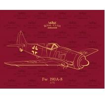 Eduard R0012 - 1:72 Fw 190A-8