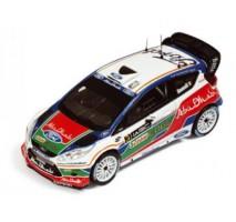 IXO - 1:43 FORD FIESTA WRC #3 Marco Simoncelli UK Test Kirkbride Airfield 2011