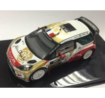 IXO - 1:43 CITROEN DS3 WRC (CITROEN Abu Dhabi World Rally Team Presentation) 2013