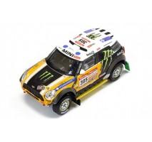 IXO - 1:43 Mini All 4 Racing #305 J.Roma-M.Périn Dakar 2012 2nd