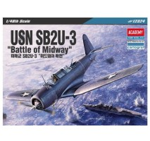 "Academy 12324 - 1:48 SB2U-3 VINDICATOR ""BATTLE OF MIDWAY"