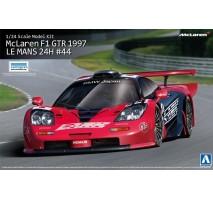 AOSHIMA AOS00751 - 1:24 McLaren F1 GTR 1997 LE MANS-24H #44 - Overseas Edition
