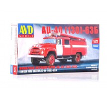 AVD 1287 - 1:72 Fire Engine AC-40 (ZIL-130)