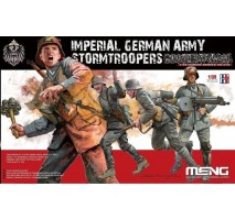 MENG HS-010 - 1:35 Imperial German Army Stormtroopers