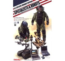 MENG HS-003 - 1:35 U.S. Explosive Ordnance Disposal Specialists & Robots