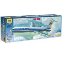 "Zvezda 7013 - 1:144 Ilyushin IL-62 ''Aeroflot"" long range airliner"