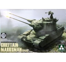 TAKOM 2039 - 1:35 British Air-defense Weapon System Chieftain Marksman SPAAG