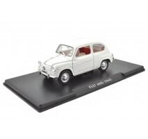 Leo Models - 1:24 FIAT 600D - 1960