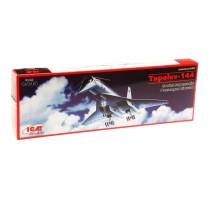 ICM 14401 - 1:144 Tupolev-144 Soviet Supersonic Passenger Aircraft