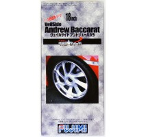 FUJIMI 193021 - 1:24 TW-33 18inch Veilside Andrew Baccarat Wheel&Tire