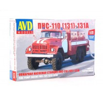 AVD 1288 - 1:72 Fire Engine AC-40 (ZIL-131)