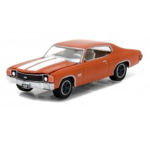 GreenLight 13180-C - 1972 Chevrolet Chevelle SS - Orange Flame Solid Pack - GreenLight Muscle Series 18