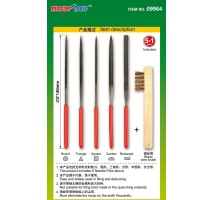 MasterTools - Assorted needle files set (Middle-Toothed) - φ 3 x 140 mm