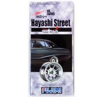 FUJIMI 192758 - 1:24 TW-7 15inch Hayashi Street wheel