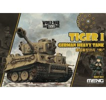 MENG WWT-001 - German Heavy Tank Tiger I - snap-fit