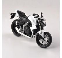 AOSHIMA AOS09189 - 1:12 HONDA CB1000R WHITE - DIECAST MOTORCYCLE