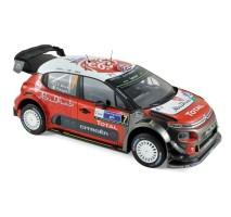 NOREV - Citroen C3 WRC N°7 - Winner Mexique 2017 -  K.Meeke / P.Nagle