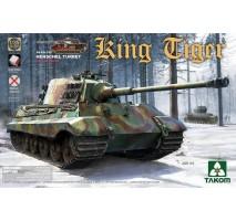 TAKOM 2073S - 1:35 WWII German Heavy Tank Sd.Kfz.182 King Tiger Henschel Turret w/interior [without Zimmerit]