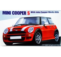 FUJIMI 122533 - 1:24 RS-43 Mini Cooper S JCW - Real Sports Car Series