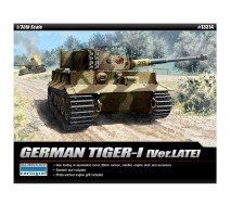 """Academy 13314 - 1:35 TIGER I """"LATE VERSION"""""""