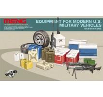 MENG SPS-014 - 1:35 EQUIPMENT FOR MODERN U.S. MILITARY VEHICLES