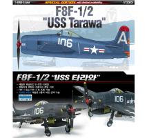 """Academy 12313 - 1:48 F8F-1/2 """"USS TARAWA"""""""
