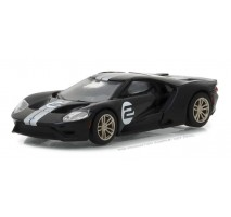 GreenLight 13200-A - 2017 Ford GT 1966 #2 Ford GT40 Mk II Tribute Solid Pack - Ford GT Racing Heritage Series 1