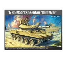 Academy 13208 - 1:35 M551 SHERIDAN GULF WAR   WA