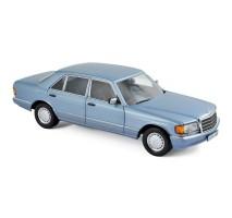 NOREV 183464 - 1:18 Mercedes-Benz 560 SEL 1990 - Pearl Blue metallic