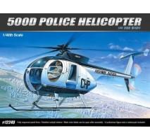 Academy 12249 - 1:48 HUGHES 500D POLICE