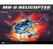 Academy 12260 - 1:48 MH-6 STEALTH HELICOPTER