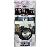 FUJIMI 192734 - 1:24 TW-5 13inch Speedstar Mark I Wheel&Tire Set f/Modification Rare