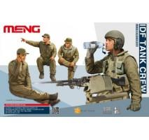 MENG HS-002 - 1:35 IDF Tank Crew - 4 figures