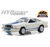 GreenLight 44790-A - Charlie's Angels (1976–81 TV Series) - 1976 Ford Mustang II Cobra II Solid Pack - Hollywood Series 19