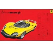 FUJIMI FUJ123639 - 1:24 Ferrari Dino 206 GT 1967