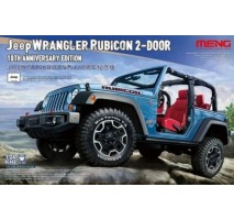 MENG CS-003 - 1:24 Jeep Wrangler Rubicon 2-Door 10th Anniversary Edition