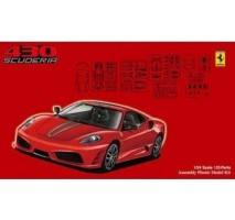 FUJIMI 123363 - 1:24 Ferrari F430 Scuderia - Real Sports Car Series