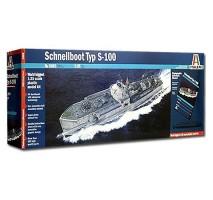 Italeri 5603 - 1:35 SCHNELLBOOT S-100 - PRM EDITION
