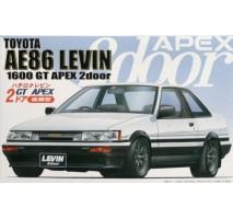 FUJIMI 035260 - 1:24 ID-61 Hachiroku Levin two-door GT APEX Late'85