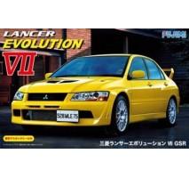 FUJIMI 039206 - 1:24 Inch Up Series ID-179 Mitsubishi Lancer evolution VII GSR window masking seal
