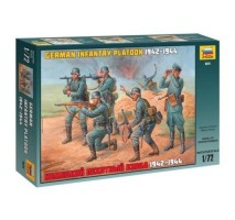 Zvezda 8078 - 1:72 GERMAN INFANTRY WWII - 35 figures