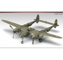 "Academy 12208 - 1:48 P-38F LIGHTNING ""GLACIER GIRL"""