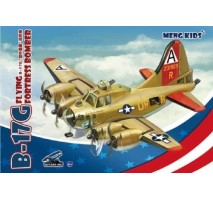 MENG mPLANE-001 - B-17G Flying Fortress Bomber, snap-fit - MENG KIDS