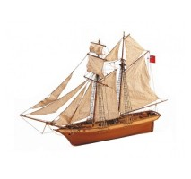 Artesania Latina 18021 - 1:50 Scottich Maid - Wooden Model Ship Kit