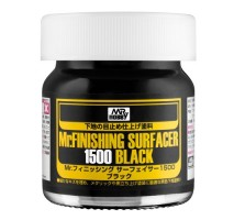 Mr. Hobby - SF-288 Mr. Finishing Surfacer 1500 Black 40 ml