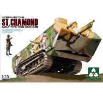 TAKOM 2002 - 1:35 French Heavy Tank St.Chamond Early Type/Iron Mask
