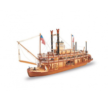Artesania Latina 20505 - 1:80 King of the Mississippi II Steamboat - Wooden Model Ship Kit